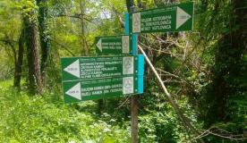 Nova signalizacija na pješačkoj stazi ka Zečijem kamenu