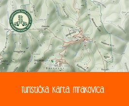 Mrakovica Tourist Map