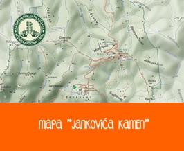 "Mapa ""Jankovića kamen"""