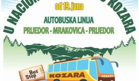 Autobuska linija Prijedor - Mrakovica - Prijedor