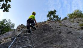 Via ferrata Bijeli kamen - jedinstven doživljaj na stijenama